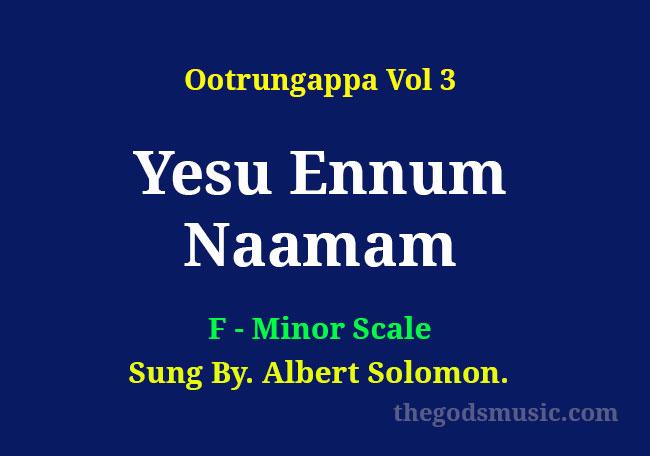 Yesu-Ennum-Naamam-Keyboard-Chords