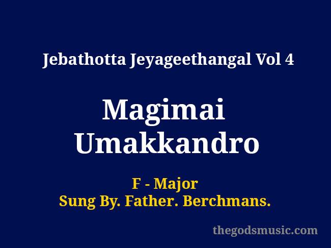 Magimai Umakkandro