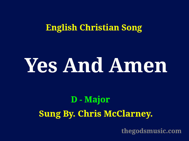 Yes-And-Amen-Keyboard-Chords